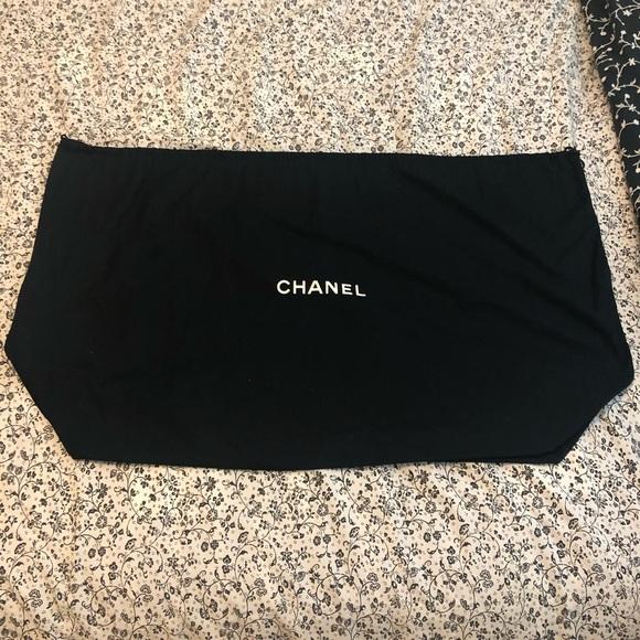 99f5e756431c CHANEL Bags | Saleauthentic Xxl Dust Bag | Poshmark